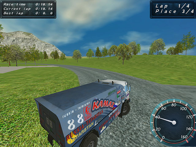 Max Power Trucks Screenshot 1. !