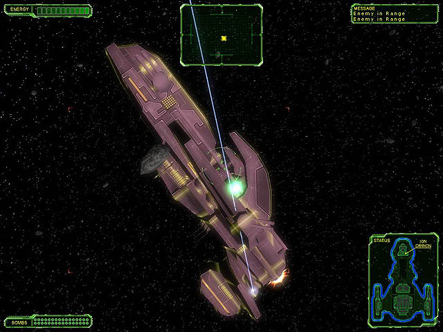 Star Interceptor Screenshot 1. !