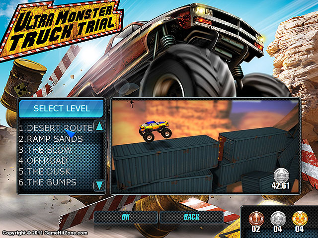 Ultra Monster Truck Trial Capture d'Écran 2. !
