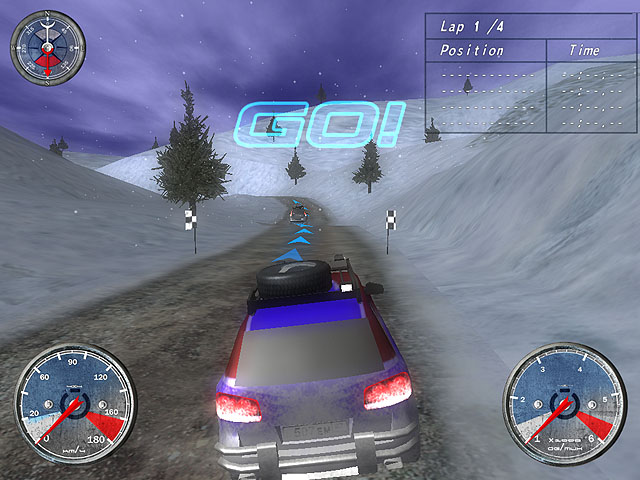 Winter Extreme Racers Скриншот 2. !