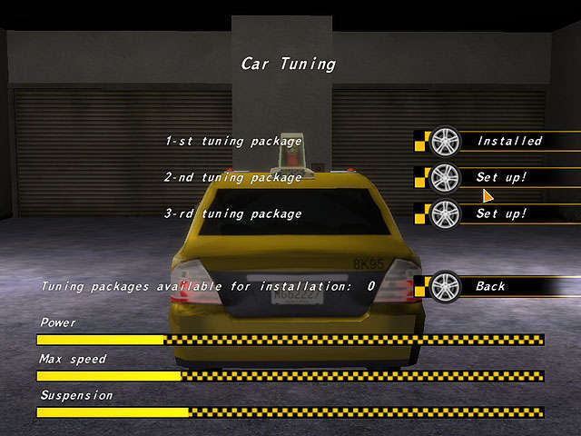 Crazy Taxi Racers Captura de Pantalla 5