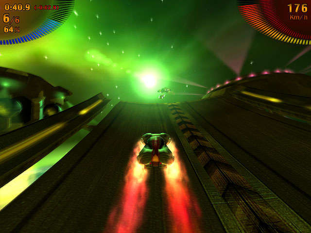 Space Extreme Racers Скриншот 3