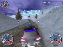 Winter Extreme Racers Captura de Pantalla 2