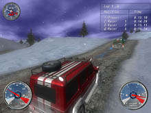 Winter Extreme Racers Captura de Pantalla 3