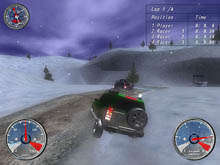 Winter Extreme Racers Скриншот 4
