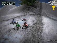 Winter Quad Racing لقطة الشاشة 2