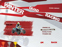 Winter Quad Racing لقطة الشاشة 3